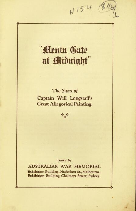 Menin gate at midnight the story of captain will longstaffs great 2 freerunsca Image collections