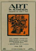 BERNARD HALL AND THE VICTORIAN NATIONAL GALLERY SCHOOL (1 October 1930)