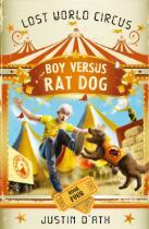 Boy versus rat dog