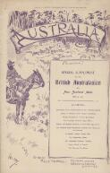Australia : special supplement to the British Australasian and New Zealand Mail / edited by Philip Mennell