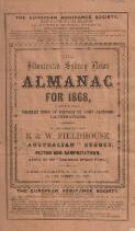 The illustrated Sydney news almanac for 1868, being bissextile or leap year