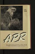 """The """"A.P.-R."""" Editorial Notes (1 August 1946)"""