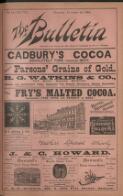 """THE BULLETIN"" BOOK EXCHANGE. (24 November 1894)"