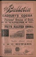 """THE BULLETIN"" BOOK EXCHANGE (1 December 1894)"
