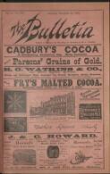 """THE BULLETIN"" BOOK EXCHANGE. (29 December 1894)"