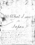 What I saw in Japan / William Stonham Short
