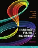 Australian political institutions / Singleton ... [et al.]