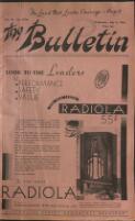 Melbourne Chatter Buckley's Elizabethan Tea 'Rooms R[?] C[?] 800[?] [?] Buckley [?] Nunn [?] [?] (6 July 1932)