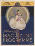 Magazine programme, Adelaide season, October 13, 1936 - October 28, 1936 (1) from [Ballets Russes : their Australasian tours, 1936-1940 : theatre programmes, ephemera held at the National Library of Australia].. First Australasian Tour of Colonel W. De Basil's Monte Carlo Russian Ballet, October 1936-July 1937. Adelaide, Theatre Royal, October 13, 1936 - October 28, 1936. Magazine programmes. - Front Cover