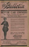 Melbourne Chatter The Occidental Collins St. Melbourne [P] MISSESE MONKE DOVLE Phones central 1533, 11609. (1 March 1923)