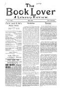 New Books added to the Book Lovers' library, (1 May 1899)