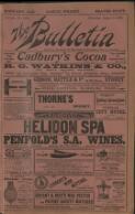 In Frank Thornton's Dressing- Room. [FOR THE BULLETIN.] (2 August 1902)