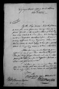 W. Baxter (Sydney) to Brown, 02 October 1825,  (File),  (from Papers of Robert Brown  / Robert Brown Papers  / Miscellaneous Manuscripts  (Box 1))