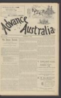 """""""MATES."""" Done for Advance Australia. (7 November 1898)"""